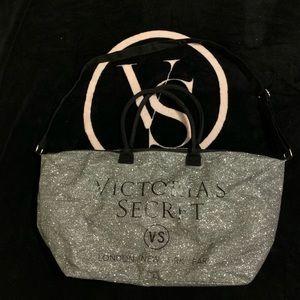 Victoria's Secret Sparkle Weekender bag